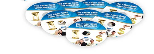 7 Hour Sales Letter DVD's